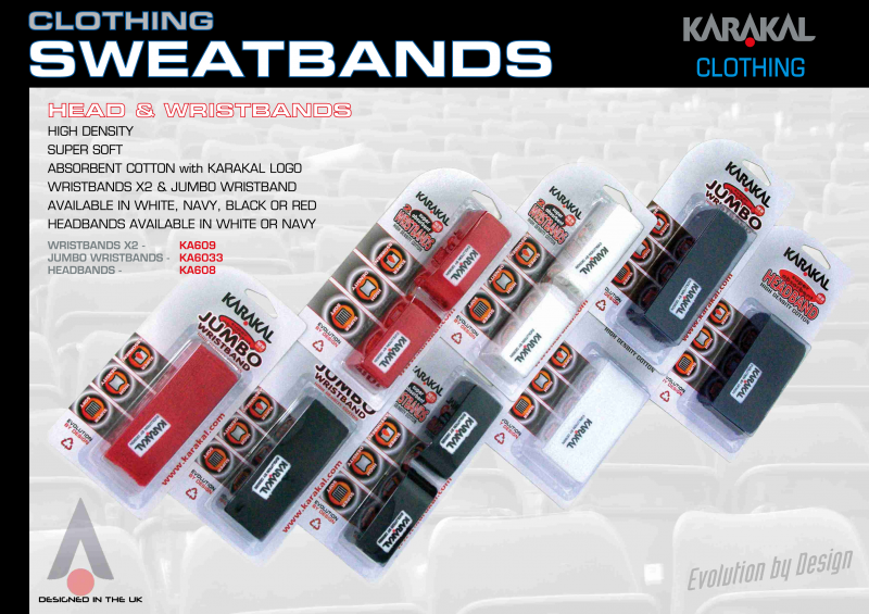 Karakal Sweat bands