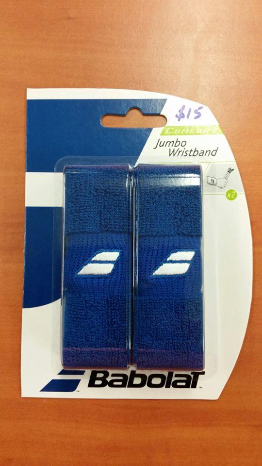 Babolat_Jumbo Wristband_Blue