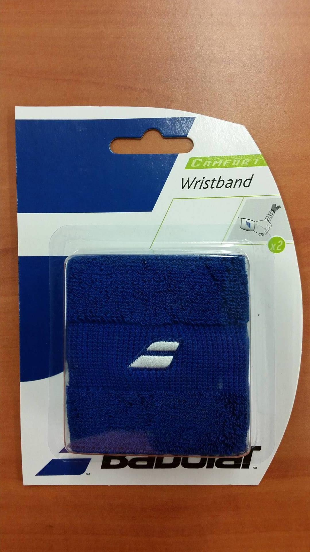 Babolat_Wristband Comfort_Blue