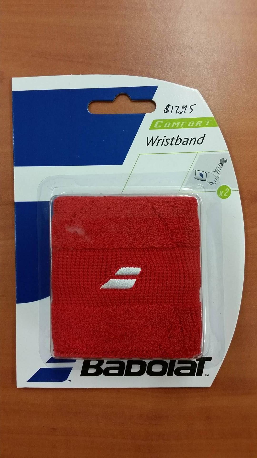 Babolat_Wristband Comfort_Red