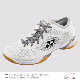 Yonex 03Z_ Mens Badminton Shoes White
