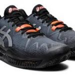 ASICS GEL RESOLUTION 8 CLAY_BLK_SUNRISE RED